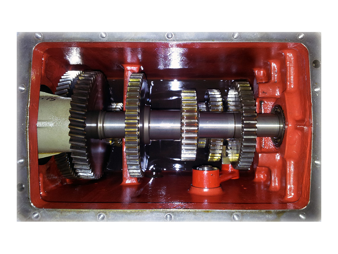 Sabatec GmbH _ WABCO WESTINGHOUSE Feeder Gearbox for ABM